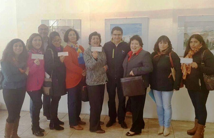 Organizaciones culturales de la comuna recibieron sus fondos del 2% de cultura
