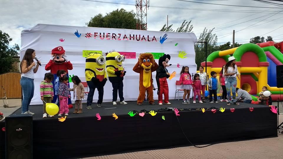 Entusiasmo y energía han sido los ingredientes que han puesto en esta actividad los jóvenes de #fuerzahuala