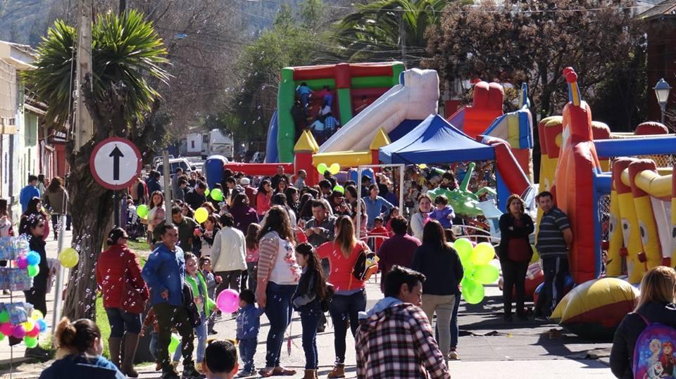 """""""Parque de los Niños"""" que organizó la Municipalidad de Hualañé"""