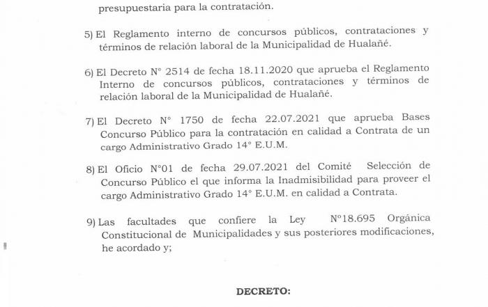 Decreto 1853 portada