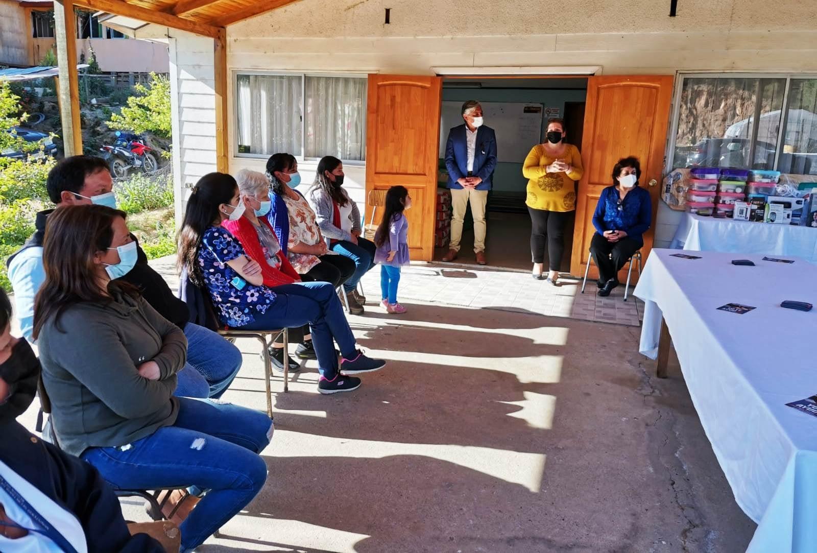 Cierre Taller Primeros Auxilios en Quilico