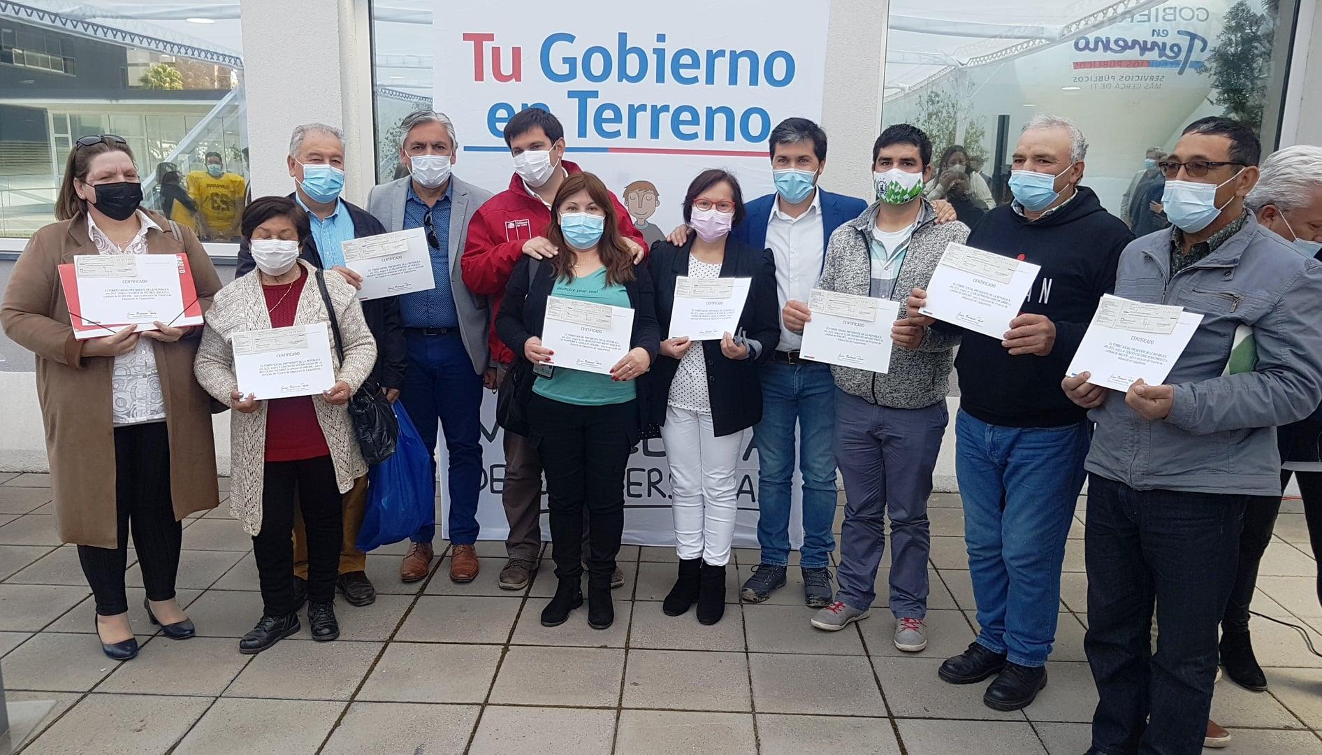 ORGANIZACIONES COMUNITARIAS HUALAÑECINAS RECIBIERON FONDO SOCIAL PRESIDENTE DE LA REPÚBLICA